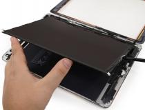iPad kijelző csere