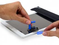 iPad kijelző csere, érintőüveg csere