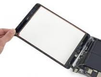 iPad szerviz érintőüveg csere, iPad mini