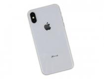 iPhone X szerviz - hátlapi üveg csere
