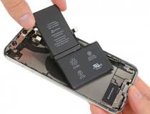 iPhone XS javítás - akkumulátor csere