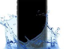 beázott Iphone ultrahangos tisztítása
