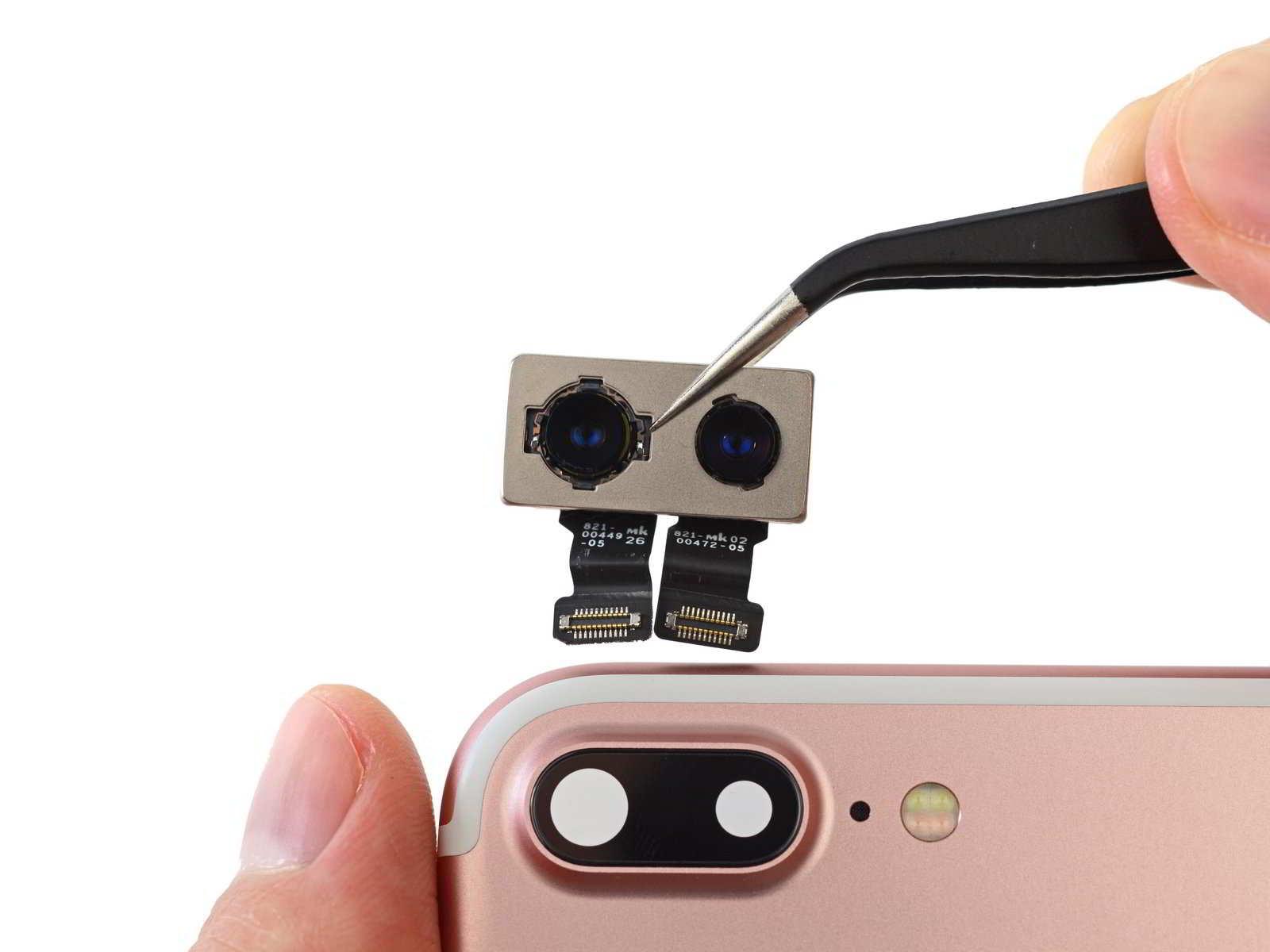 iPhone / iPad hátlapi kamera lencse csere