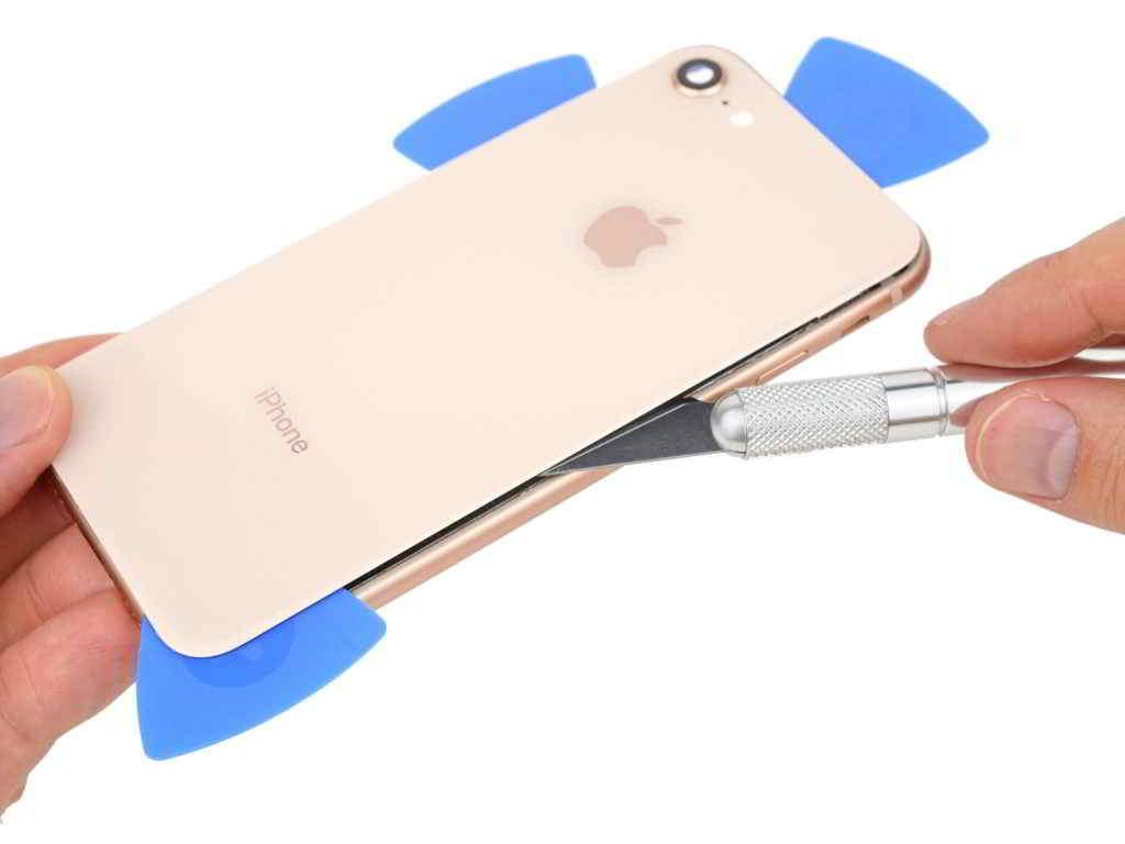 iPhone hátlap/készülékház csere